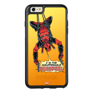 Deadpool Hanging From Harness OtterBox iPhone 6/6s Plus Case