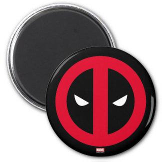 Deadpool Logo 2 Inch Round Magnet