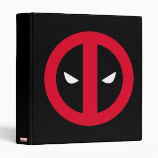 Deadpool Logo 3 Ring Binder