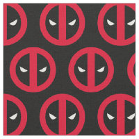 Deadpool Logo Fabric