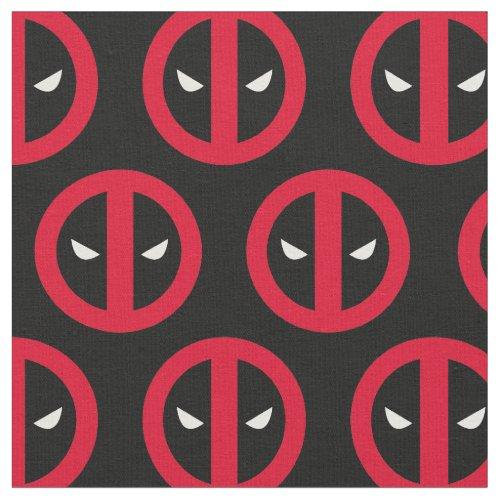 Deadpool Logo Fabric