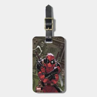 Deadpool Money Luggage Tag