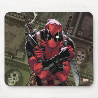 Deadpool Money Mouse Pad