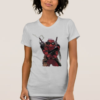 Deadpool Money T-Shirt
