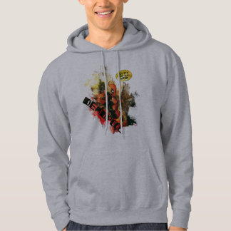 Deadpool Outta The Way Nerd Hoodie