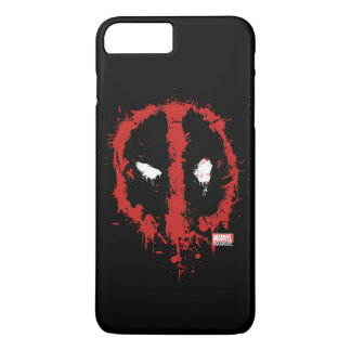 Deadpool Paint Splatter Logo iPhone 8 Plus/7 Plus Case