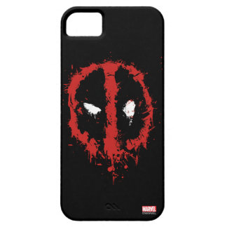 Deadpool Paint Splatter Logo iPhone SE/5/5s Case