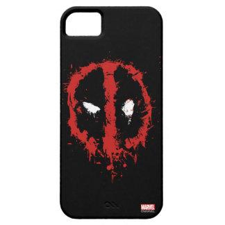 Deadpool Paint Splatter Logo iPhone SE/5/5s Case