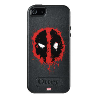Deadpool Paint Splatter Logo OtterBox iPhone 5/5s/SE Case