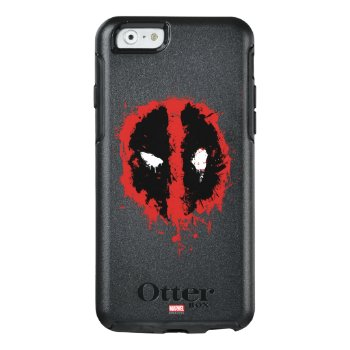 Deadpool Paint Splatter Logo Otterbox Iphone 6/6s Case by Deadpool at Zazzle