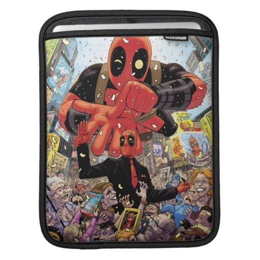 Deadpool Parade iPad Sleeve
