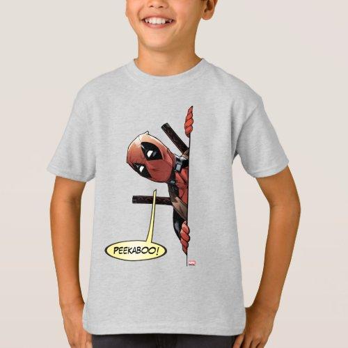 Deadpool Peekaboo T_Shirt