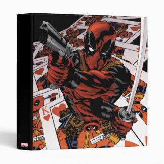 Deadpool Playing Cards 3 Ring Binder