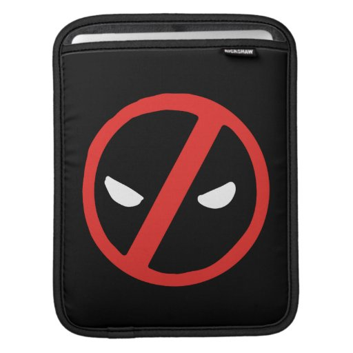 Deadpool Slanted Logo iPad Sleeve
