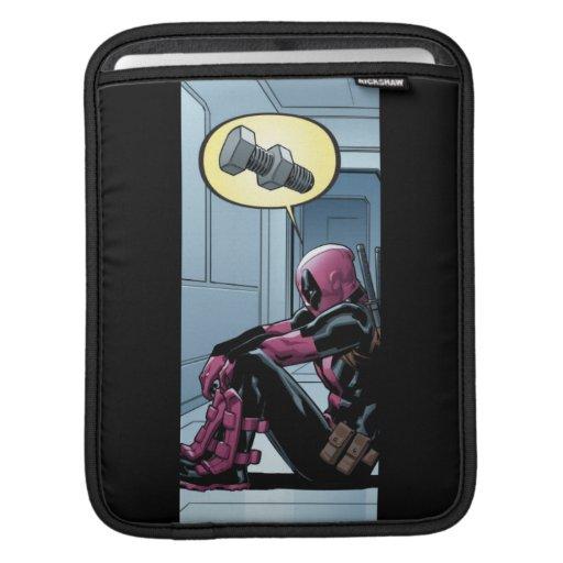 Deadpool Sulking iPad Sleeve