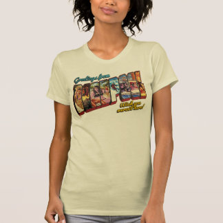 Deadpool Vacation Postcard T Shirt