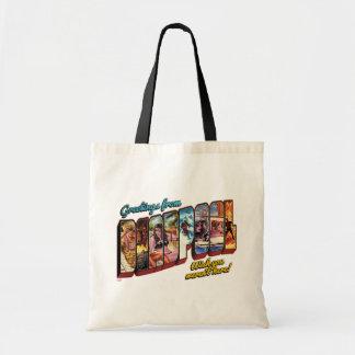 Deadpool Vacation Postcard Tote Bag