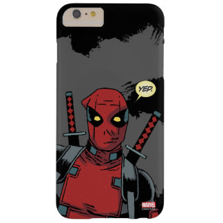 Deadpool Yep Funda Barely There iPhone 6 Plus