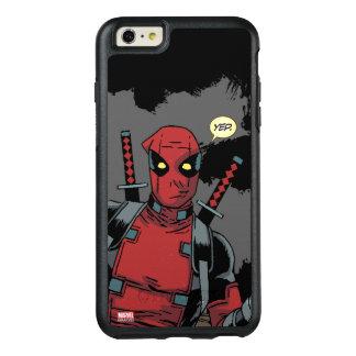 Deadpool Yep Funda Otterbox Para iPhone 6/6s Plus