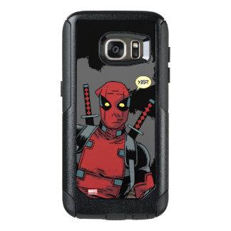 Deadpool Yep Funda Otterbox Para Samsung Galaxy S7