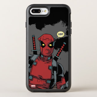 Deadpool Yep Funda OtterBox Symmetry Para iPhone 7 Plus