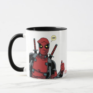 Deadpool Yep Mug