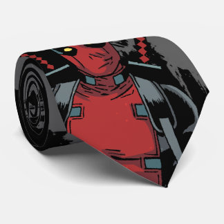Deadpool Yep Neck Tie