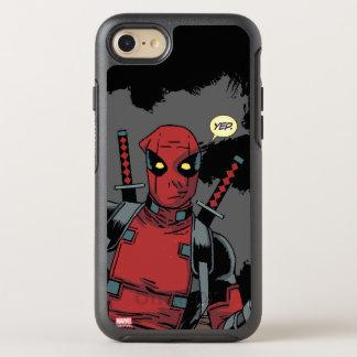 Deadpool Yep OtterBox Symmetry iPhone 7 Case