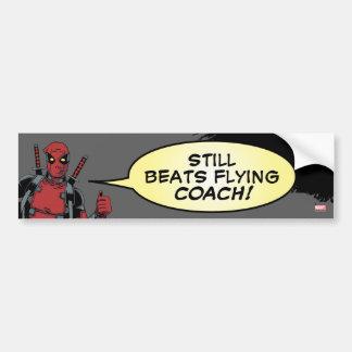 Deadpool Yep Pegatina Para Auto