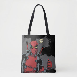 Deadpool Yep Tote Bag