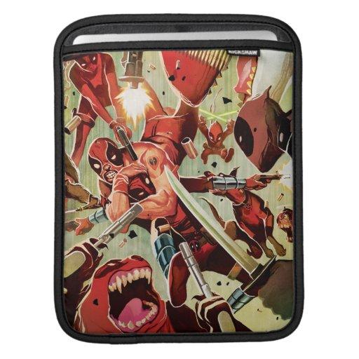 Deadpools Fighting iPad Sleeve