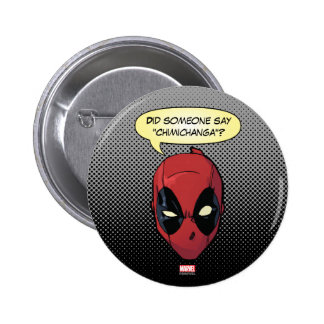 Deadpool's Head Button
