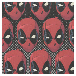 Deadpool's Head Fabric