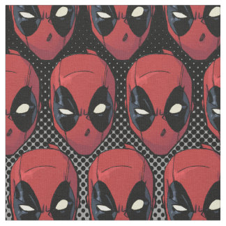 Deadpool's Head Fabric
