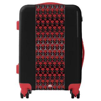 Deadpool's Head Luggage