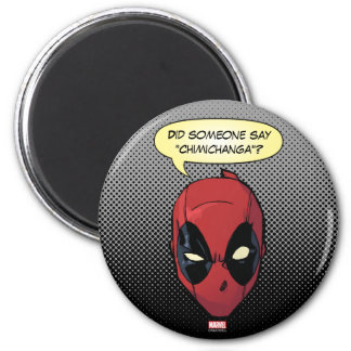 Deadpool's Head Magnet
