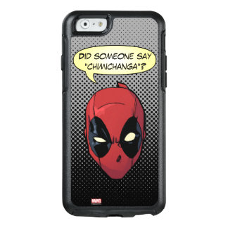 Deadpool's Head OtterBox iPhone 6/6s Case
