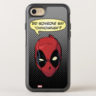 Deadpool's Head OtterBox Symmetry iPhone 7 Case