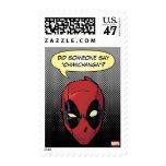 Deadpool's Head Postage