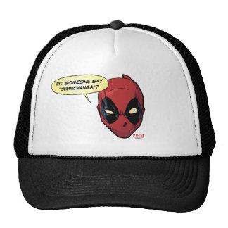 Deadpool's Head Trucker Hat