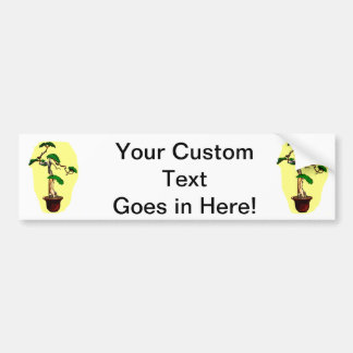 Deadwood Bonsai Shari Tall Car Bumper Sticker