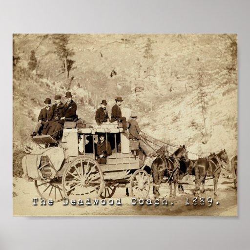 Deadwood Coach 1889 Poster