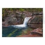 Deadwood Falls on Reynolds Creek in autumn in Card