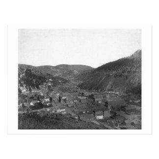 Deadwood from Livingston's Hill Photograph Postcard
