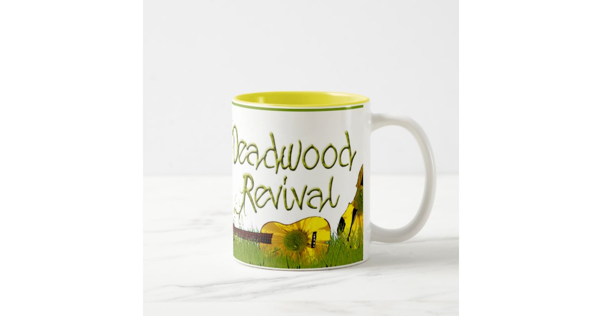Deadwood Revival In The Grass Two Tone Coffee Mug Zazzle
