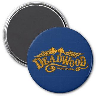 Deadwood Saloon 3 Inch Round Magnet