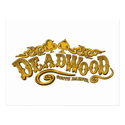 Deadwood Saloon Postcard