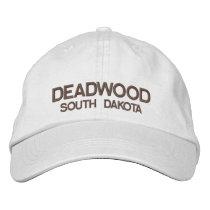 Deadwood* South Dakota Personalized Adjustable Hat