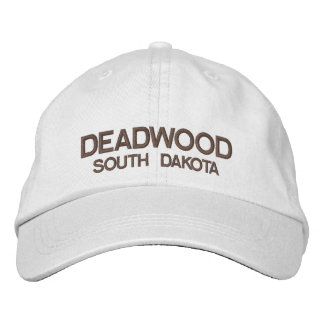 Deadwood* South Dakota Personalized Adjustable Hat Embroidered Hat