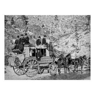 DEADWOOD STAGECOACH in 1889 Posters